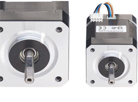 igus® motors with D-cut shaft and JST connectors